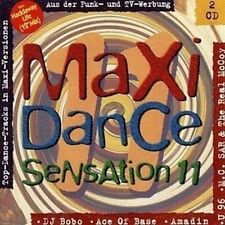 Maxi Dance Sensation 11 (1993) Haddaway, DJ Bobo, U96, MC Sar & Real Mc.. [2 CD]