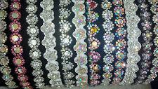 Joblot 24 pcs mixte design strass brillant headbands new wholesale lot h