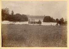 France, Maison à Chèvreville, ca.1895, vintage albumen print Vintage albumen pri