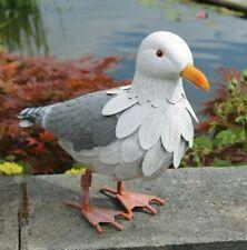 Primus Lifelike Vintage Look Hand Crafted Metal Seagull Bird Garden Ornament