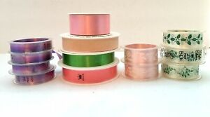 Vintage HALLMARK Velvet Sheen, Hall Sheen, Style Sheen Ribbons, Holiday Some New