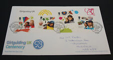 2nd Feb 2010 Centenary of Girlguiding First Day Cover SHS (B89)