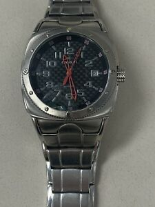 Croton Automatic Watch Black Dial, Band broken, Not running, Sold as is #608