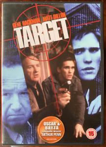 Target DVD 1985 Action Crime Movie Thriller w/ Gene Hackman + Matt Dillon