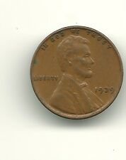 1939 LINCOLN WHEAT PENNY. NICE SHAPE. NO RESERVE AUCTION
