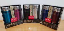Contigo Luxe Spill Proof Autoseal Steel Thermos Coffee Travel Mug Flask 414ml