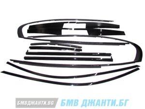 BMW 7er G12 Hochglanz shadow line fensterleiste zierleiste zierleiste full set