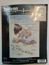 Janlynn Collecting Shells Counted Cross Stitch Kit 12x16
