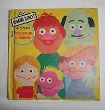 Sesame Street En Espanol Personas en mi Familia Children's Book 1977, Hardcover