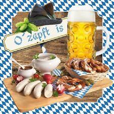 Servietten 20, Serviettentechnik O zapft is Oktoberfest, HF, 33x33