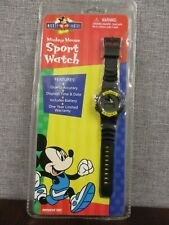 Vintage - Mickey Mouse Sport Watch - New Old Stock  MFKLCD12-AS - Free Shipping