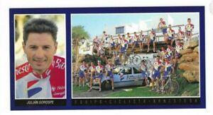 Julian Gorospe -  Spanien - Autogrammkarte  Rad Cycling Cyclisme Ciclismo -