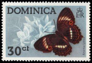"""DOMINICA 431 (SG463) - Godart's Peacock Butterfly """"Antartia lytrea"""" (pa7047)"""