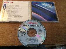 Fujitsu Ten Musical Library [CD] Rick Springfield Astley Kenny Drew Mr.Mister