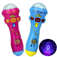 Flashing Projection Microphone Baby Learning Machine Educational Toy MO