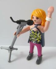 Playmobil Dollshouse/wedding/cruise ship figure: Lady singer/rock star NEW
