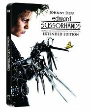 Edward Scissorhands Extended Limited Edition Steelbook UK Exclusive Blu-ray NEW