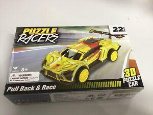 Cardinal Puzzle Racers 3D Puzzle Car Pull Back & Race