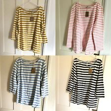 BNWT Joules Harbour 3/4 sleeves top size UK 8 10 12 14 16 18