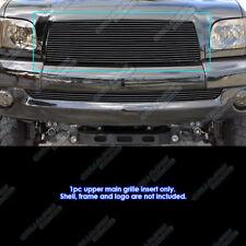 Fits 2003-2006 Toyota Tundra Black Upper Billet Grille Insert