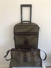 MULBERRY, Handbag & Cabin Luggage set, padlock & keys; rarely seen combination