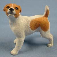 Jack Russel Terrier  figur  hund North light hundefigur  alabaster wb