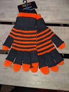 Black & Orange Magic Glove Set. BNWT.
