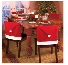 Décorations de table de Noël housses de chaise sans marque pour la maison