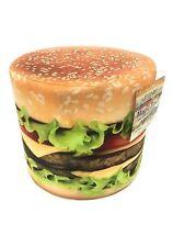 """Hamburger 12"""" Magic Pouf"""