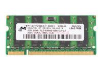 Micron 2GB 2Rx8 PC2-6400 DDR2 800Mhz 200pin 1.8V SO-DIMM RAM Laptop Memory #6H