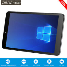 "8"" Tablet PC 2GB+32GB CHUWI Hi8 Air Windows 10+Android 5.1 Dual Camera WIFI BT"
