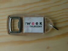 Vintage The Week on Thursday Leicester Keyring souvenir bottle opener KR004