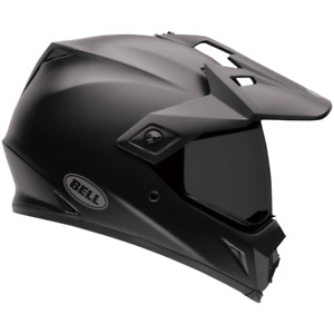 Bell 2021 MX-9 ADV MIPS Motorcycle Helmet Matte Black BE7081268 Size Medium