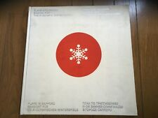 1972 SAPPORO OLYMPIC CANDIDATE CITY JAPAN PLAN REPORT BOOK