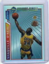 1996-97 TOPPS MYSTERY FINEST BORDERED REFRACTOR SHAQUILLE ONEAL