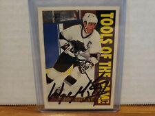 1994-95 Topps Premier Kings Hockey Card #280 Signed Wayne Gretzky COA