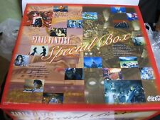 ShipFree FINAL FANTASY CocaCola Limited Special Box 36 Figure Tshirt Movie Book