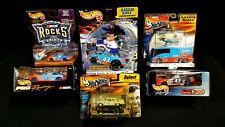 Lot of Hot Wheels Racing STP #43 Petty & Andretti Radical Luxury Rocks Pro Race