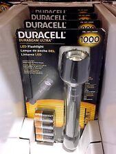 Duracell Durabeam Ultra LED Flashlight 1000 Lumen w/ 3 Beam Settings - Brand New