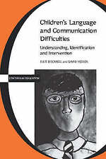 Children's Language and Communication Difficulties (Continuum-ExLibrary