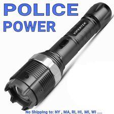 Vipertek 23 Billion Volt Self Defense Rechargeable Stun Gun ZOOM Adj LED Light