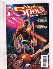 Lot of 8 Mystery in Space with Captain Comet DC Comic Books #1 2 3 4 5 6 7 8 KS4