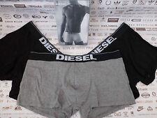 Diesel Boxer Shorts Umbx-Rocco Noir & Gris Taille XL BOXER TRUNK 3p/pk Entièrement neuf dans sa boîte