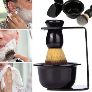 Holder Rack Mug Cup Men Shaving Brush Stand Shave Bowl Tool Set Safety Razor