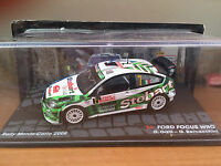 "DIE CAST "" FORD FOCUS WRC RMC 2008 G. GALLI "" PASSIONE RALLY SCALA 1/43"