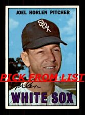 1967 Topps #2-367 VG-EX Pick From List All PICTURED