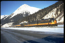 351083 Alaska RR F 7 1502 With Train Seward Special 1972 A4 Photo Print