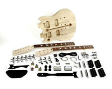Pit Bull Guitars AGD-612L Electric Guitar Kit (Double Neck) (Left Handed)