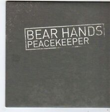 (FG384) Bear Hands, Peacekeeper - 2014 DJ CD