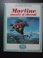 MARTINE monte à cheval -  G. DELAHAYE 1969 CASTERMAN FARANDOLE